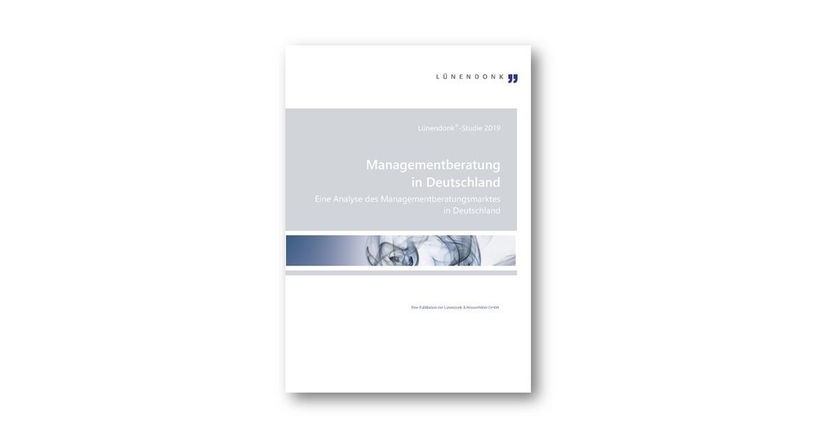Lünendonk-Studie 2019: Managementberatung in Deutschland