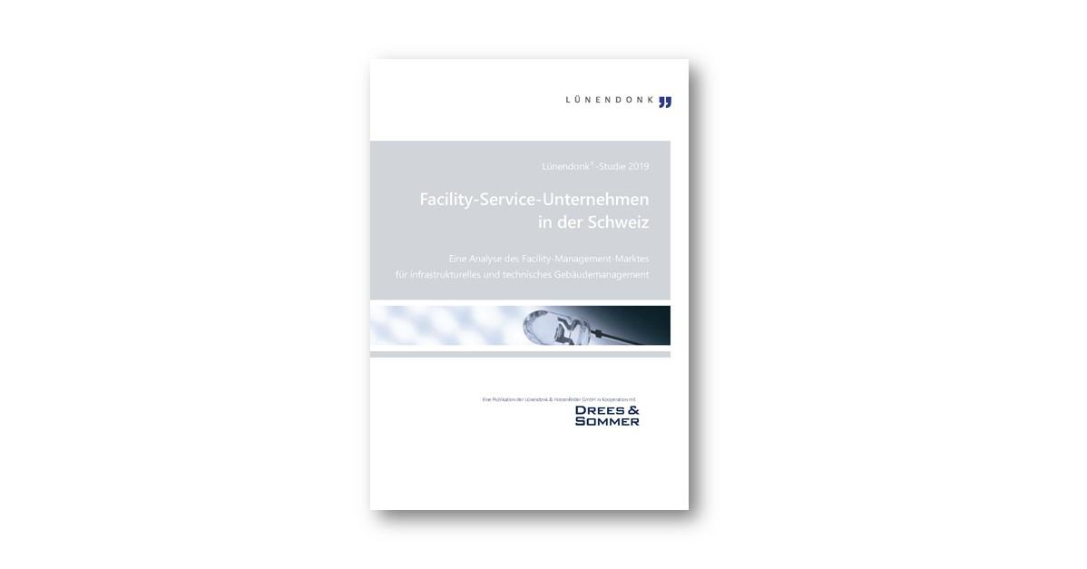 Lünendonk-Studie 2019: Facility-Service-Unternehmen in der SchweizLünendonk-Studie 2019 Facility-Service-Unternehmen in der Schweiz