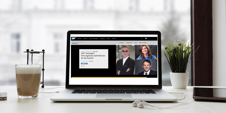 SAP: Bill McDermott tritt nach zehn erfolgreichen Jahren als Vorstandsvorsitzender zurück. Jennifer Morgan und Christian Klein als Nachfolger bestätigt.