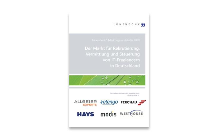 Lünendonk-Marktsegmentstudie 2020 Der Markt für Rekrutierung, Vermittlung und Steuerung von IT-Freelancern in Deutschland