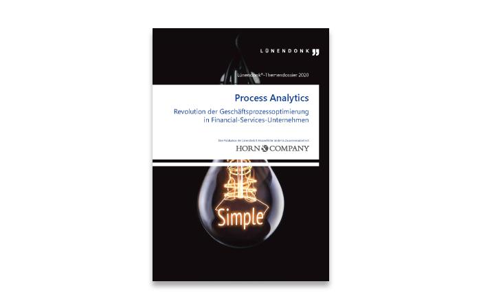 Lünendonk-Themendossier 2020: Process Analytics - Revolution der Geschäftsprozessoptimierung in Financial-Services-Unternehmen