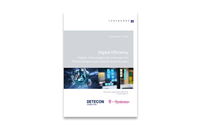Lünendonk-Studie 2020: Digital Efficiency – Digitale Technologien als Instrument für Effizienzsteigerungen und Kostensenkungen