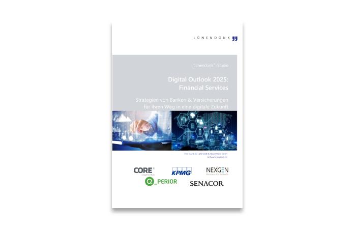 Lünendonk-Studie 2020 - Digital Outlook 2025: Financial Services – Strategien von Banken & Versicherungen für den Weg in eine digitale Zukunft